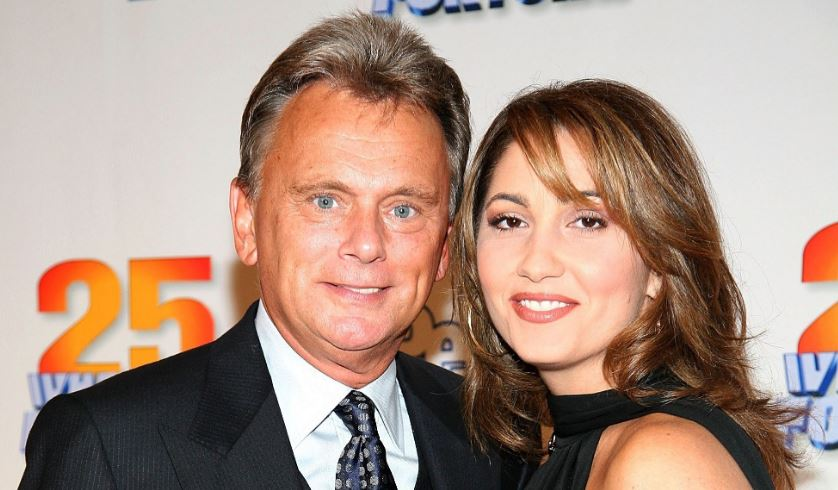 Pat Sajak and wife